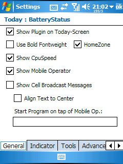 ToDay-Screen HomeScreen PlusPlus Options About